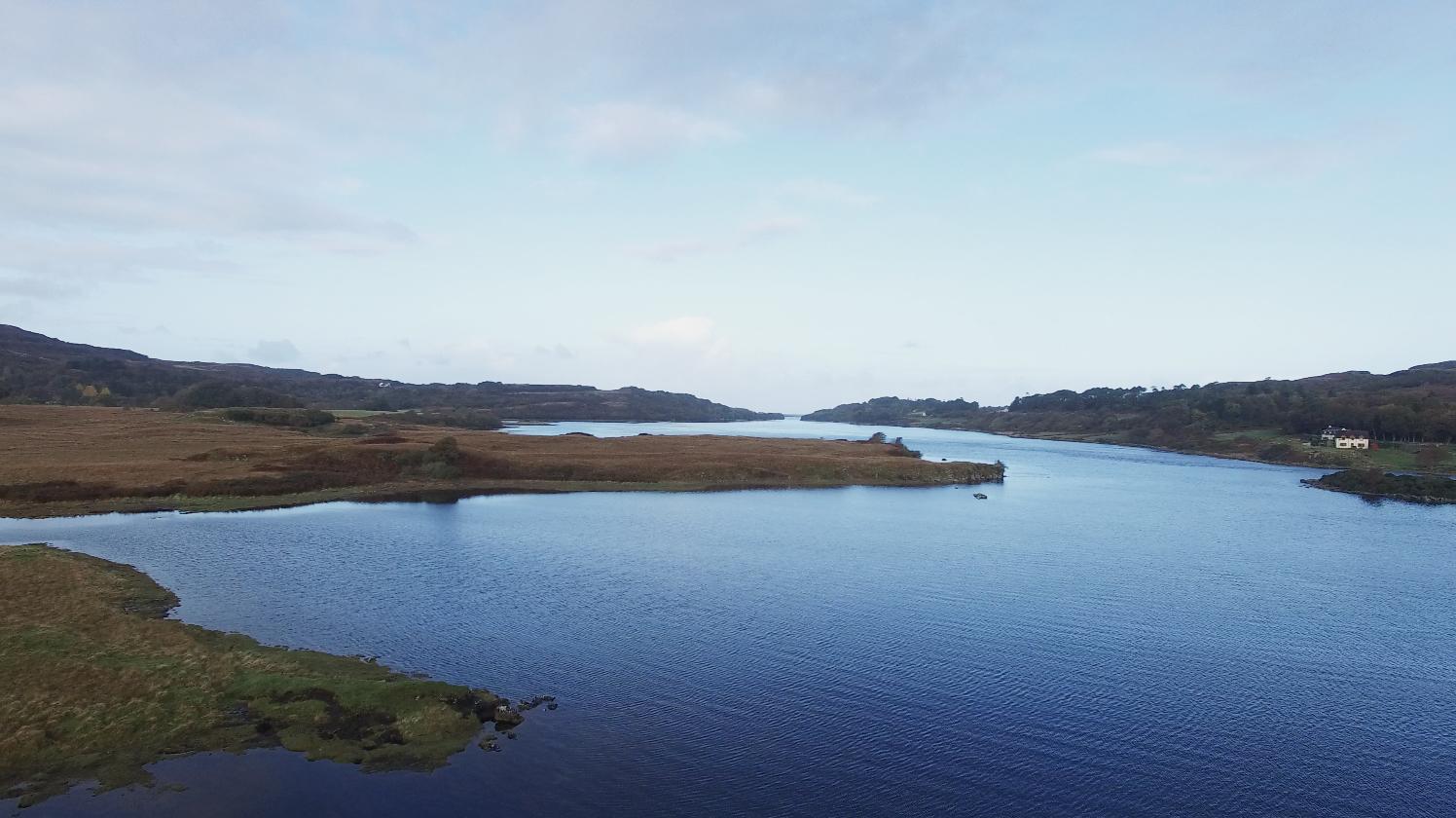 Loch Cuin Dervaig Mull